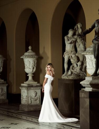 Manhattan designer wedding dress by Caroline Castigliano