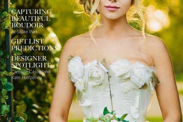 OX weddings luxury bridal wear designer Caroline Castigliano