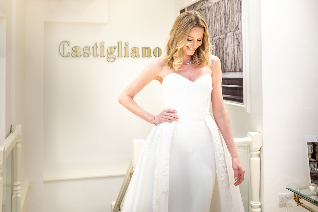 couture wedding dresses by Caroline Castigliano