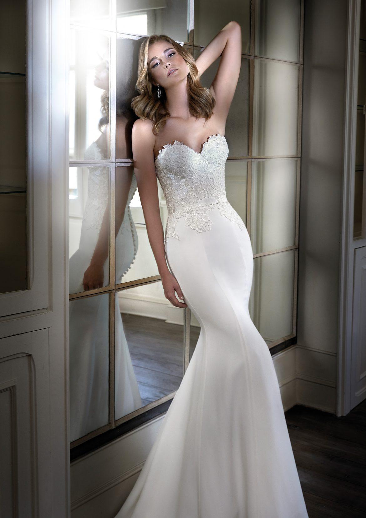 Cara luxury wedding dresses by Caroline Castigliano