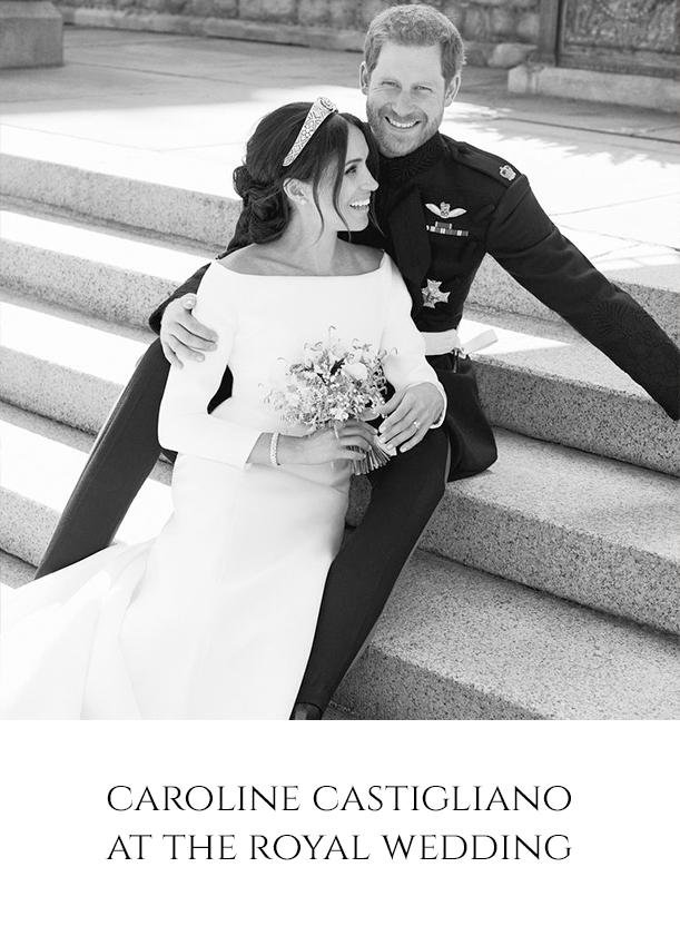Caroline Castigliano Royal wedding