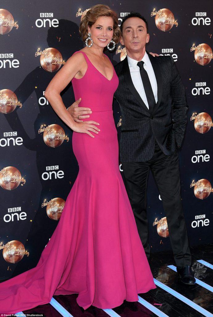 Darcey Bussell Wears Bespoke Caroline Castigliano Gown To Strictly Launch Caroline Castigliano