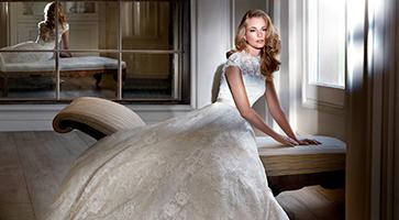 Madeira designer wedding dresses by Caroline Castigliano