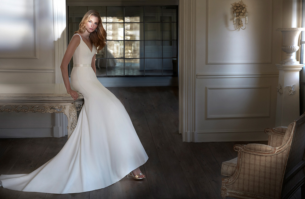 Celia luxury wedding dresses by Caroline Castigliano
