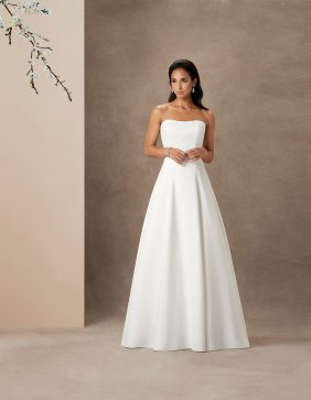 Aspen luxury wedding gown by Caroline Castigliano