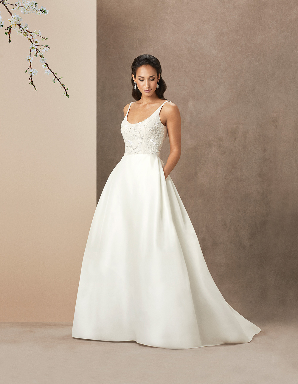 Chantel luxury wedding gown by Caroline Castigliano