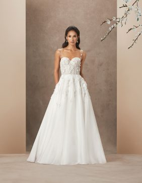Charisma luxury wedding gown by Caroline Castigliano