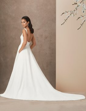 Mine Forever luxury wedding gown by Caroline Castigliano