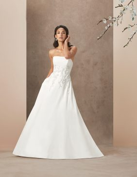 Rose Garden luxury wedding gowns by Caroline Castigliano