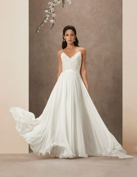 Sakura luxury wedding gowns by Caroline Castigliano