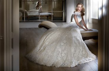 Madeira luxury wedding dresses by Caroline Castigliano