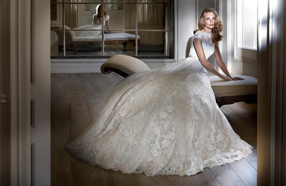 Madeira luxury wedding dresses by Caroline Castigliano