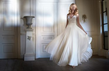 Sakura luxury wedding dresses by Caroline Castigliano