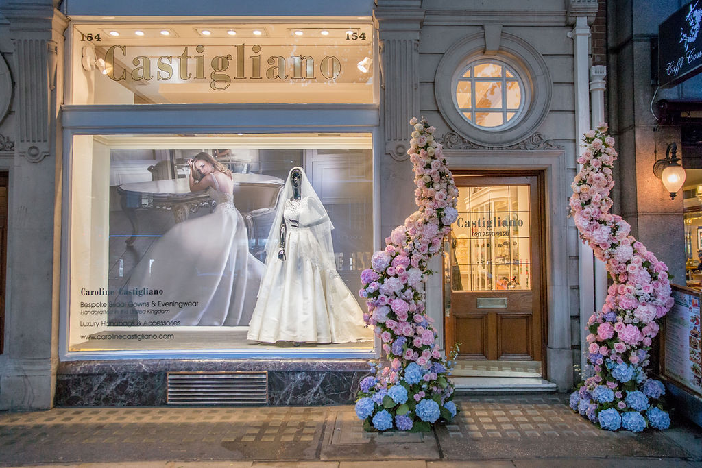 luxury wedding gowns by Caroline Castigliano