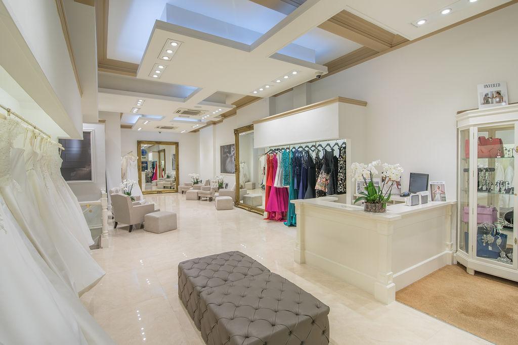 Caroline Castigliano Knightsbridge designer wedding dresses by Caroline Castigliano