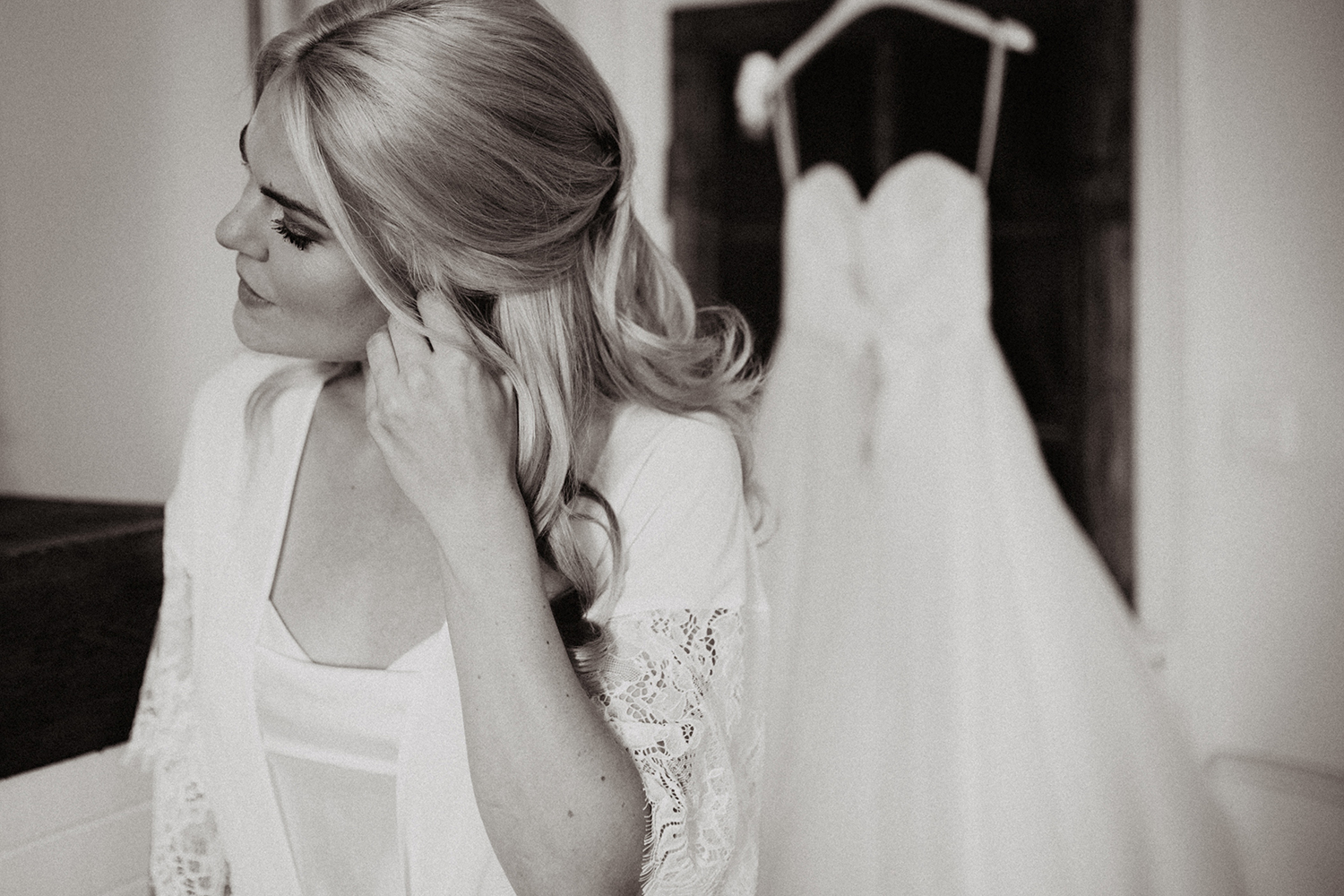 designer wedding gowns by Caroline Castigliano