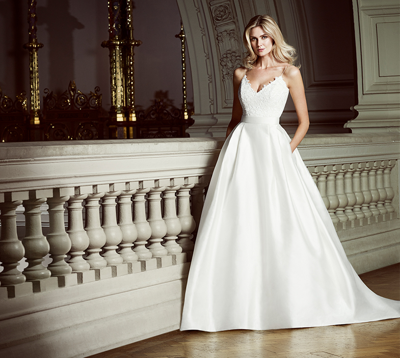 In My Dreams luxury wedding dresses by Caroline Castigliano