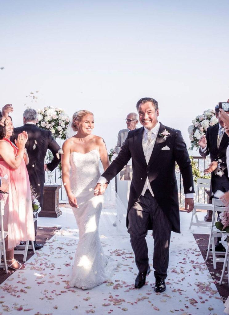 India luxury wedding gown by Caroline Castigliano