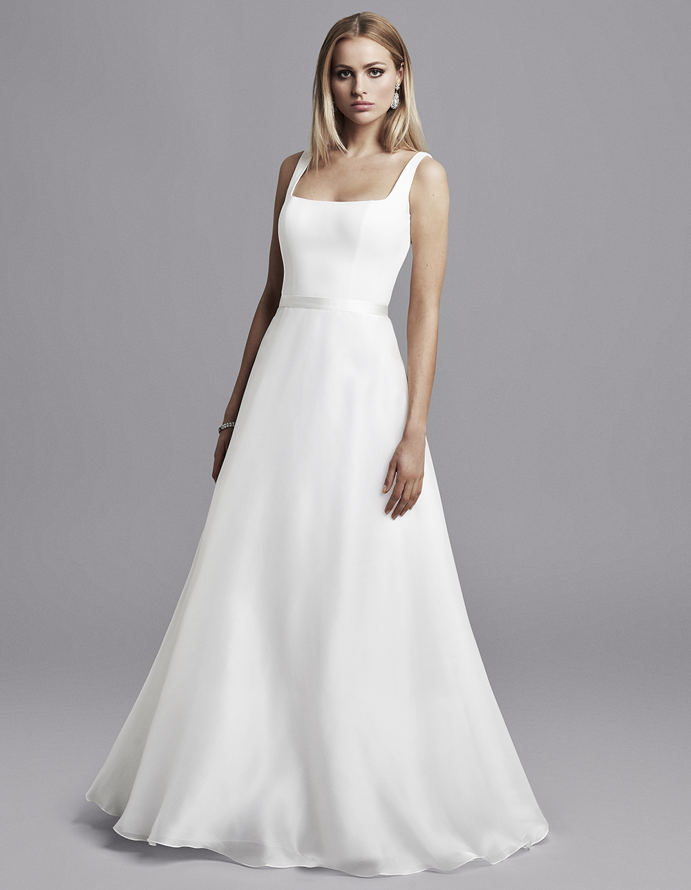 Finding The Right Wedding Dress Shape For Your Body Caroline Castigliano,A Simple White Wedding Dress